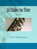 24 Etudes for Flute