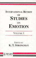 International Review of Studies on Emotion
