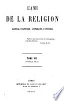 L'Ami de la religion