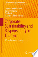 Corporate Sustainability and Responsibility in Tourism