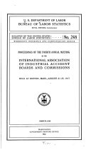 Bulletin of the United States Bureau of Labor Statistics  no  248  1919 Book