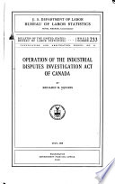 Conciliation and Arbitration Series  , Edições 8-9