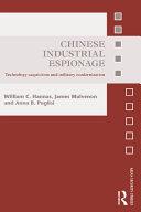 Chinese Industrial Espionage Pdf/ePub eBook