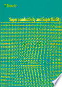 Superconductivity And Superfluidity Book PDF