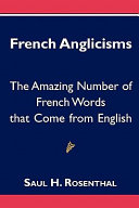 Pdf French Anglicisms