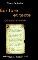 Pdf Ecriture et texte Telecharger