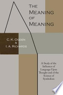 The Meaning of Meaning