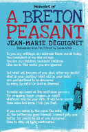 Memoirs of a Breton Peasant [Pdf/ePub] eBook