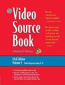 The Video Source Book  Video program listings N R