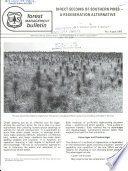 Direct Seeding of Southern Pines Book