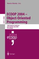 ECOOP 2004   Object Oriented Programming