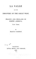 LaSalle and the Discovery of the Great West