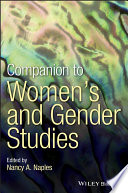 Companion To Women S And Gender Studies