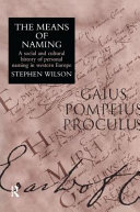 The Means of Naming