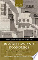 Roman Law And Economics
