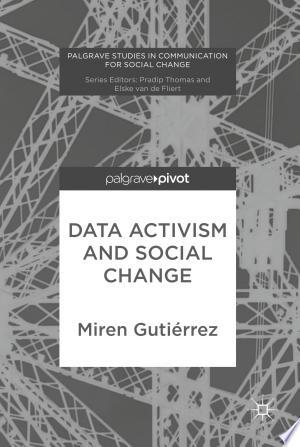 Download Data Activism and Social Change Free PDF Books - Free PDF