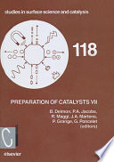 Preparation Of Catalysts Vii Book PDF