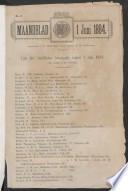 1 juni 1884