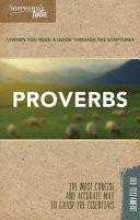 Shepherd s Notes  Proverbs