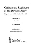 Officers and Regiments of the Royalist Army: S-Z