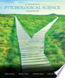 An Introduction to Psychological Science, First Canadian Edition Plus NEW MyPsychLab with Pearson EText -- Access Card Package
