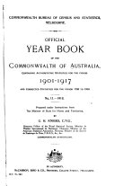 Official Year Book of the Commonwealth of Australia