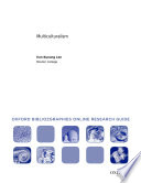 Multiculturalism Oxford Bibliographies Online Research Guide