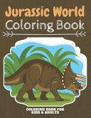 Jurassic World Coloring Book