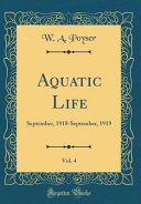Aquatic Life, Vol. 4