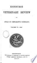Edinburgh Veterinary Review And Annals Of Comparative Pathology