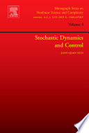 Stochastic Dynamics and Control Book