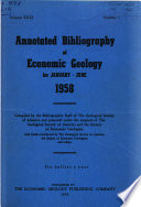 Annotated Bibliography of Economic Geology