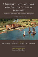 A Journey Into Mohawk and Oneida Country 1634-1635