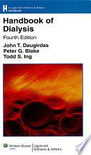 Handbook of Dialysis Book