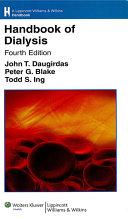 Handbook of Dialysis ebook