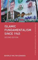 Islamic Fundamentalism since 1945 Book