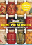 Complete Book Of Home Preserving Book