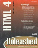 HTML 4 Unleashed Book