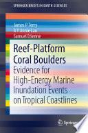 Reef Platform Coral Boulders