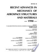 Recent Advances in Mechanics of Aerospace Structures and Materials