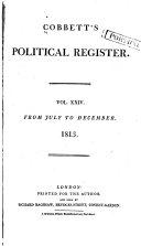 Cobbett's Political Register ebook