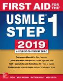 First Aid for the USMLE Step 1 2019, Twenty-ninth edition [Pdf/ePub] eBook