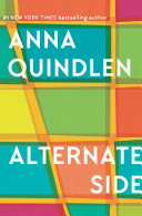 Alternate Side Anna Quindlen Cover