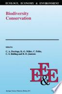 Biodiversity Conservation Book