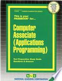 Computer Associate (Applications Programming)