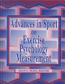 Advances in Sport and Exercise Psychology Measurement