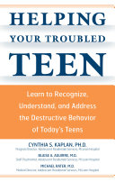 Helping Your Troubled Teen Book