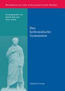 Pdf Das hellenistische Gymnasion Telecharger