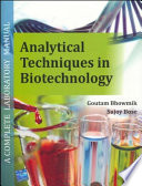 Ana Techniqs in Biotechnology