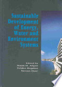 Sustainable Development of Energy  Water and Environment Systems